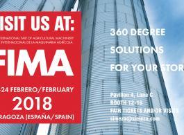 SIMEZA (empresa miembro de PETKUS Group) estará presente en la 40 edición de la FIMA Agrícola en Zaragoza
